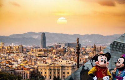 Espagne paris disney